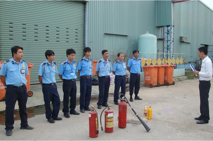 Chứng chỉ Lớp huấn luyện phòng cháy chữa cháy