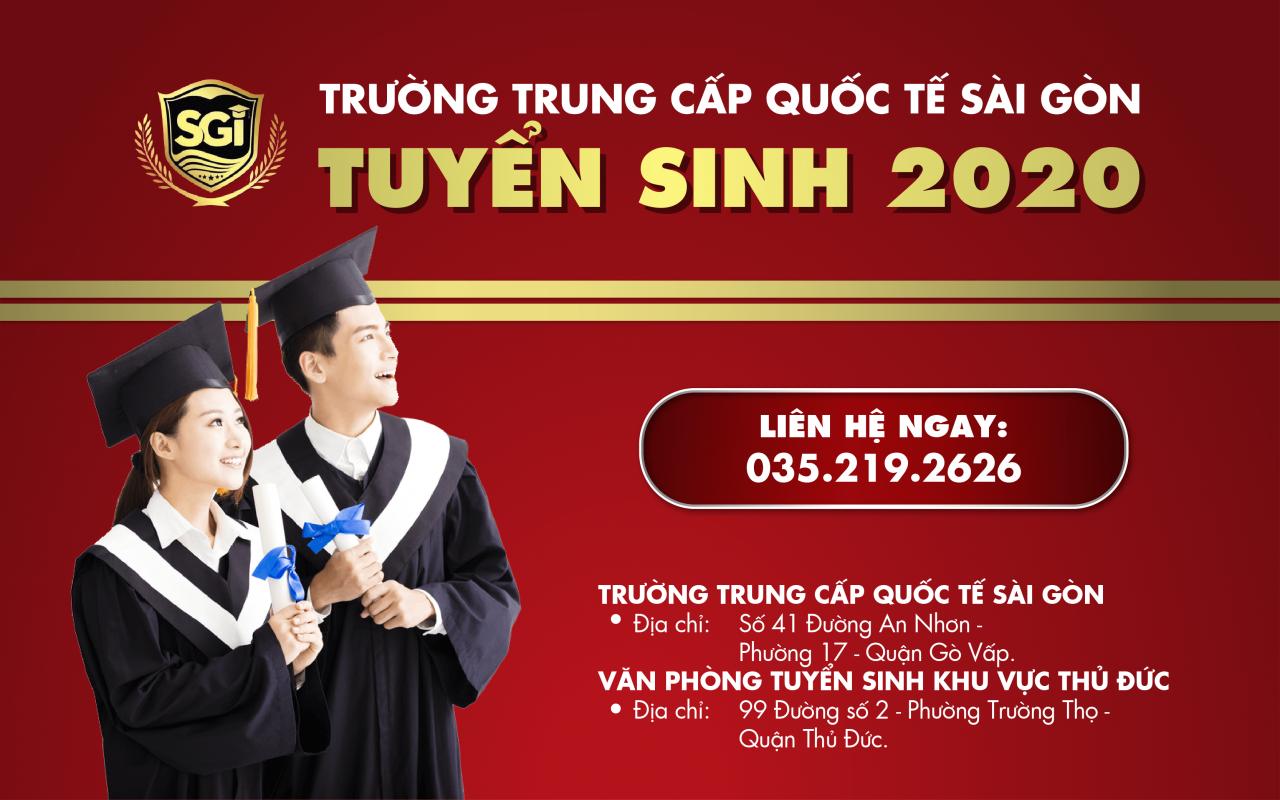Thông báo tuyển sinh năm học 2020-2021
